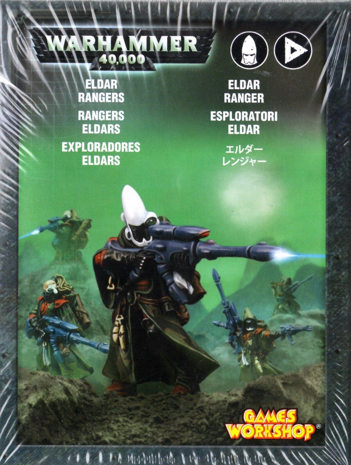 Warhammer 40K Eldar Rangers 46-29 SEALED GW  nuovo  a buon mercato
