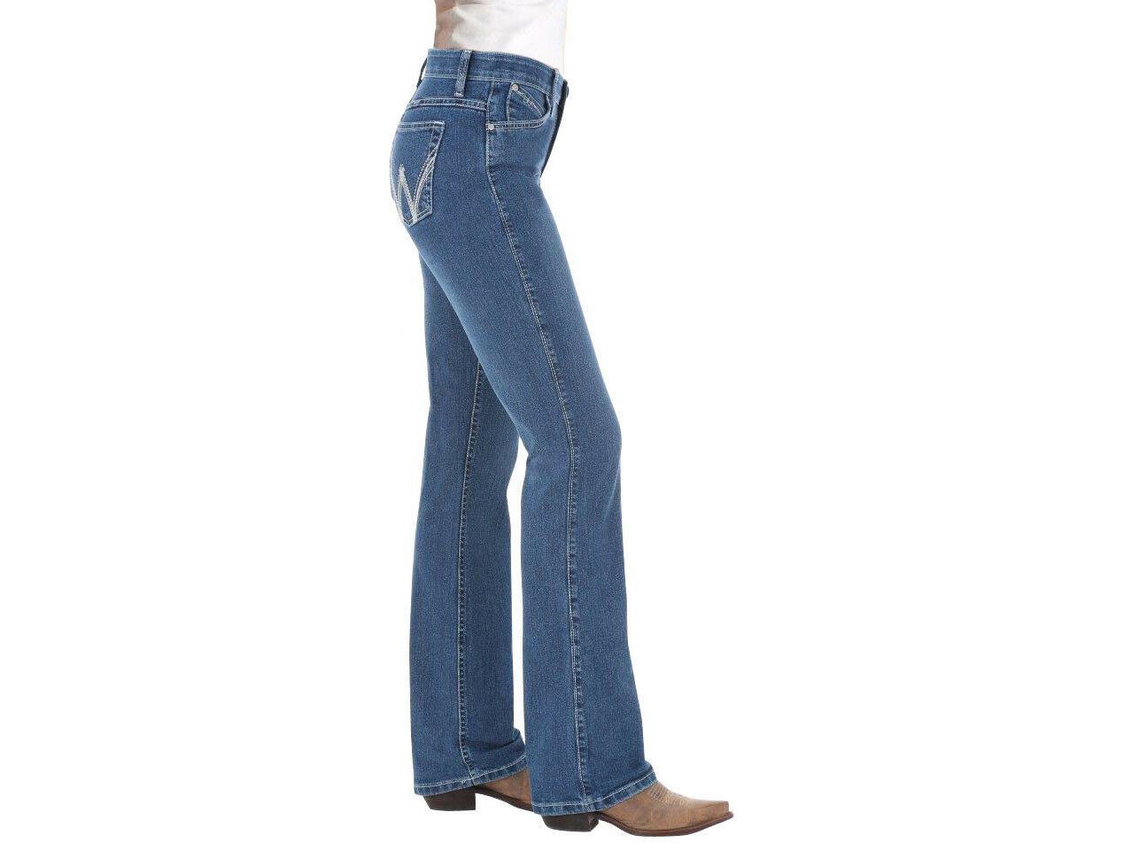 WRANGLER Q-BABY with COOL VANTAGE tech COWGIRL BOOT CUT JEAN WCV20MS  MSRP