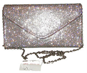 Image Is Loading Lulu Townsend Rose Gold Sparkling Envelope Handbag Purse