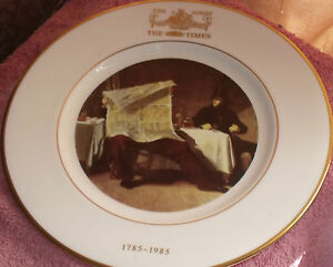 WEDGWOOD-THE-TIMES-NUMBER-338-LTD-EDITION-PLATE