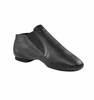 CG05 Adult Split Sole Slip On Jazz Boot Black Capezio