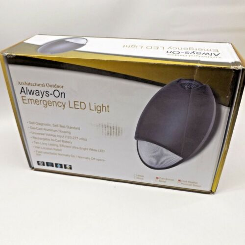 LUMAX 55988 DEM-LED-BR-EM ALWAYS-ON EMERGENCY LED LIGHT 10W