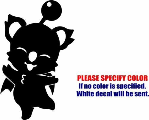 "Vinyl Decal Sticker Standing Moogle Grande Car Truck Bumper Wall JDM Fun 7/"""