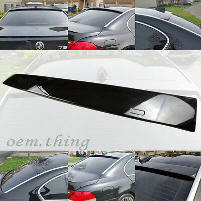 BMW E65 7-SERIES 4D SEDAN A TYPE REAR ROOF SPOILER WING 750i 745i 760Li 02-08