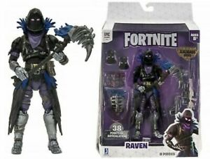 Fortnite-Legendary-Series-Raven-6-034-inch-Action-Figure-New-Epic-Games-Jazwares