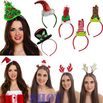 Christmas Headband For Adults.Christmas Headbopper Kids Adult Headbands Head Bopper Novelty Fun Fancy Dress Uk Ebay