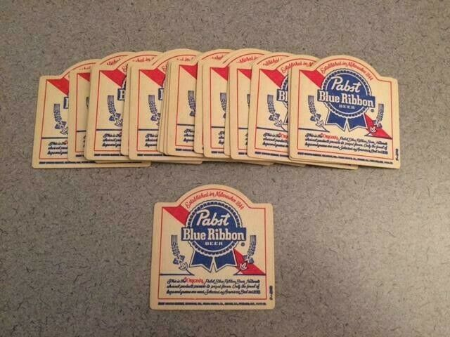PABST BLUE RIBBON PBR  BEER VINTAGE ERA CABIN HUNTING SHACK MANCAVE KEYBOX