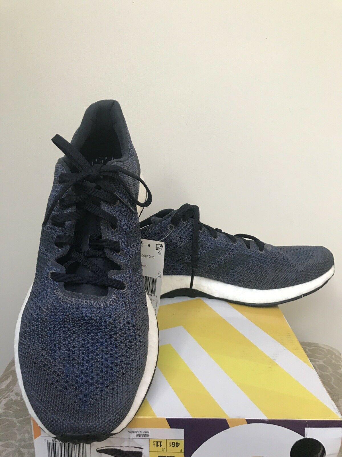 Adidas PureBoost DPR Men's Athletic shoes BB6293 Size US12 New