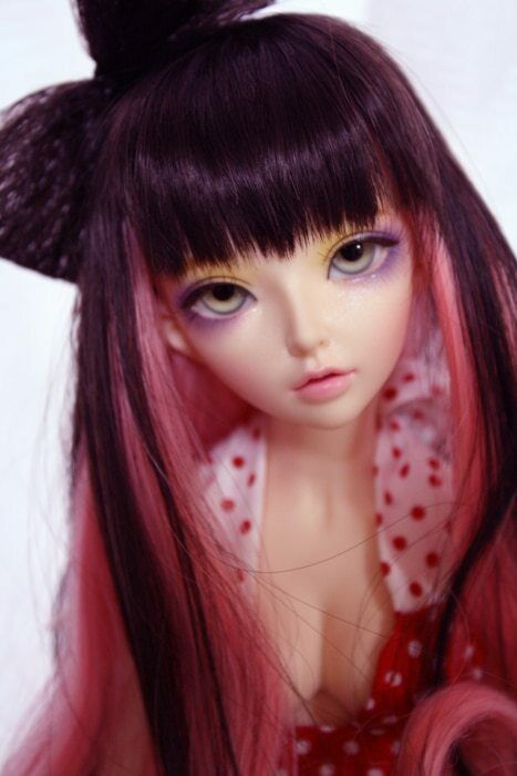 1 4 bjd doll - Celine recast muñeca dollfie anime manga kawaii cute ojos fairyl