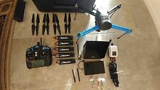 3DR IRIS+ DRONE, CASE, 5 Batteries, Viewer, Nexus Tablet, 4 sets of Blades, Gim