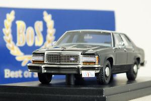 1 43 bos 1987 ford ltd crown victoria undercover voiture de police 18 en parfait tat dans sa. Black Bedroom Furniture Sets. Home Design Ideas