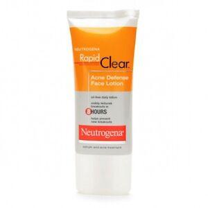 Neutrogena Rapid Clear Acne Defense Lotion - 1.7 Fl Oz (50 Ml), 2 Pack Madre Labs, Serumdipity, Vitamin C Facial Serum, Antioxidant-Rich Skin Care, 1 fl. oz. (pack of 4)