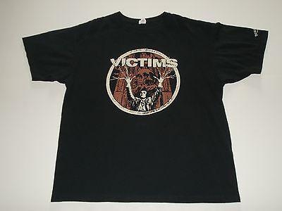VICTIMS Spiritual Healer Skull T Shirt XXL Deathwish Swedish Crust Hardcore Punk