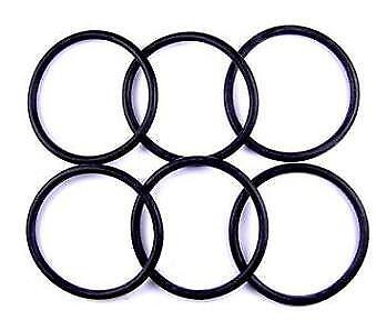 BS007 O Ring 3.69 mm Diamètre intérieur x 1.78 Mm Viton Paquet de 6