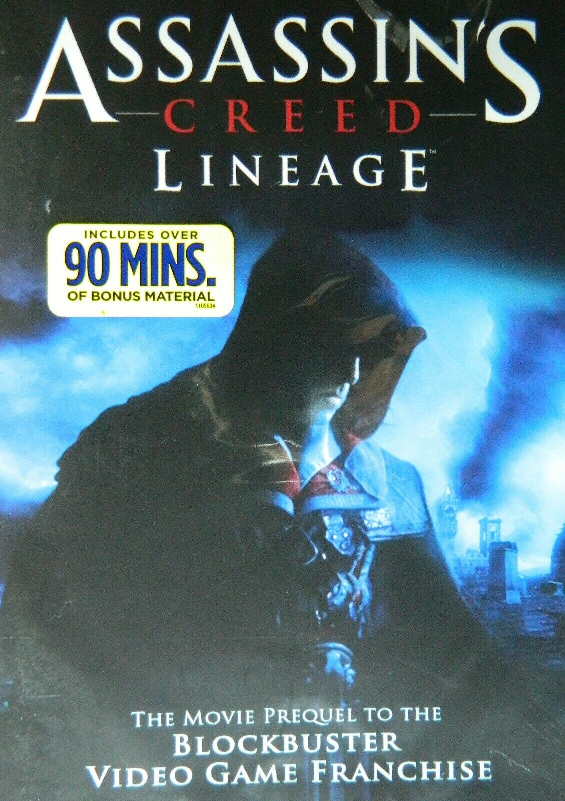 Assassin S Creed Lineage 2009 Prequel To Game 90 Minutes Of Bonus Material Ebay