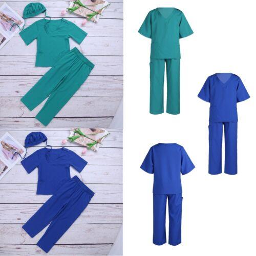 Kinder Arzt Kostüm Arzt-Set Chirurg Outfit Karneval Halloween Party Verkleidung