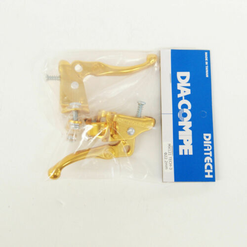 TECH-3 Gold BRAKE LEVER 22.2 mm DIA-COMPE MX-121 Pair