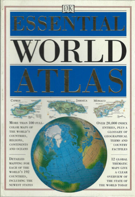 Essential World Atlas by Dorling Kindersley Publishing Staff 1998 Paperback Book
