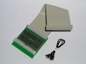 Pfostenverbinder Wannenstecker 230460-G Flachkabel Prüf Adapter 10 pol