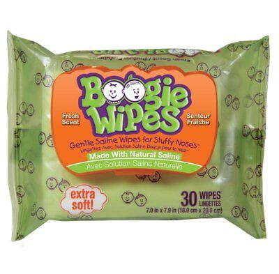Baby 5 Pack Boogie Wipes Fresh Scent 30 Each Diapering