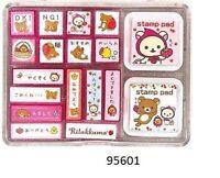 San X Rilakkuma Big Stamp Sets
