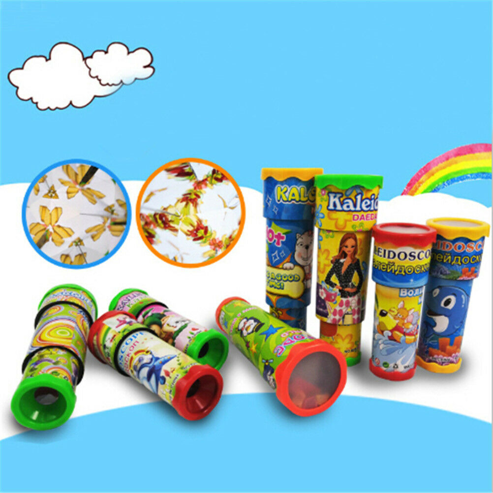 Vintage Kaleidoscope Toy Kid Magic Educational Toy Children Birthday Gift buy OS