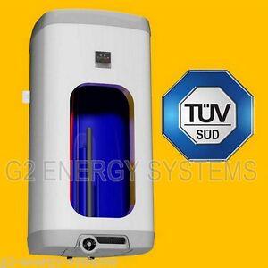 100 l liter elektrischer warmwasserspeicher boiler 4 kw heizleistung ebay. Black Bedroom Furniture Sets. Home Design Ideas