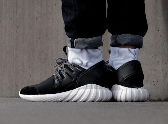 newest 87067 aca12 adidas Originals Tubular Doom Shoes Trainers Black Ba7555 10