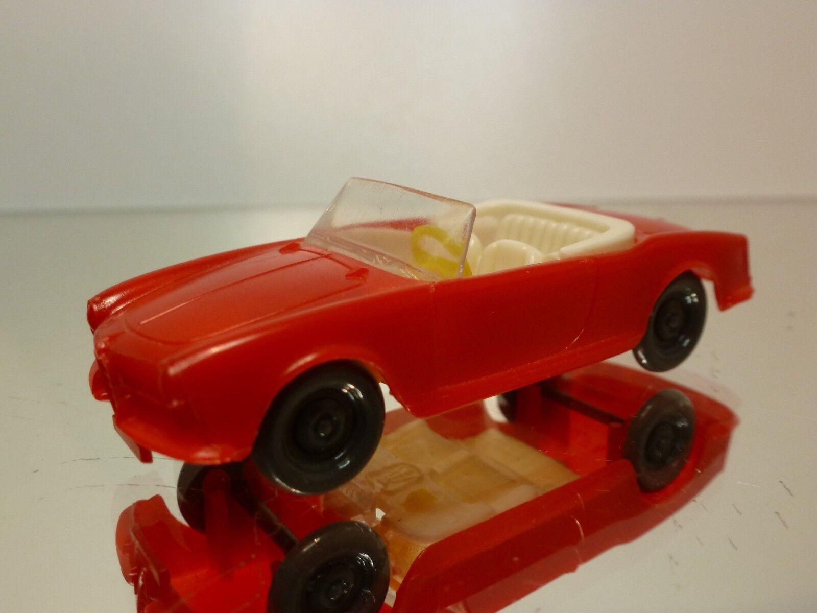 HAMMER GERMANY 4 ALFA ROMEO GIULIETTA SPIDER - rosso L7.5cm - GOOD  REPLICA IMPY