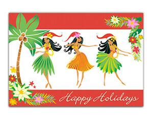 Mele Kalikimaka Christmas Cards.Details About Hawaiian Christmas Card Season Aloha Hula Girls Dancers Hawaii Mele Kalikimaka
