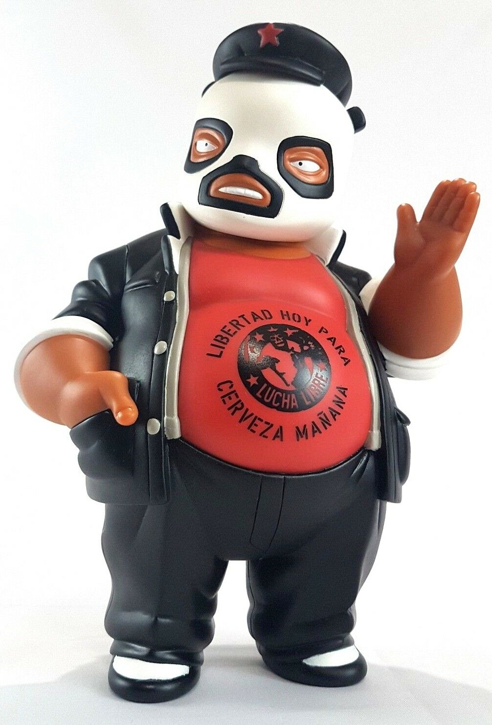 Vintage Frank Kozik Muttpop Anarchy Lucha Libre El Panda 2006 Vinyl Figure