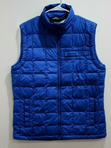 Marmot Men/'s Ajax Vest NEW AUTHENTIC Blue 73080-2059