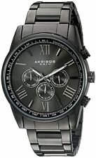 Akribos XXIV Men's Enterprise Analogue Display Swiss Quartz Watch with Stainl...