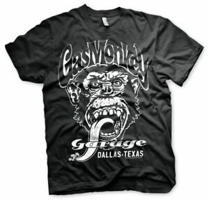 Gas-Monkey-Garage-Dallas-Texas-Official-Merchandise-T-Shirt-M-L-XL-Neu