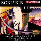 Scriabin: Symphonies 2 & 3; Poem of Ecstasy (CD, Mar-1999, 2 Discs, Chandos)