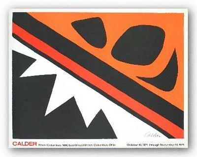 MUSEUM ART PRINT La Grenouille et Cie Alexander Calder