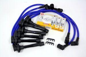 mitsubishi galant v6 spark wires ngk platinum plugs blu ebay. Black Bedroom Furniture Sets. Home Design Ideas