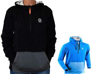 Maglia-Felpa-Uomo-Maniche-Lunghe-Mezza-Zip-Bjorn-Daehlie-Sweater-Men-Long-Sleeve