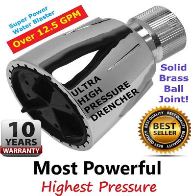 SHOWER BLASTER OVER 12.5gpm ULTRA HIGH PRESSURE SHOWERBLASTER BRAND SHOWERHEAD!