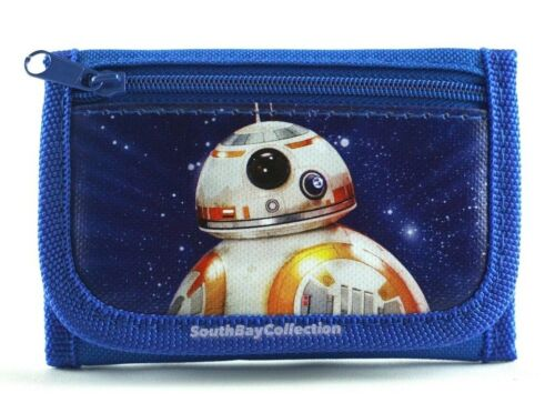 Star Wars Kids Wallet for Boys Toddlers Children BB-8 Robot Photo Pocket