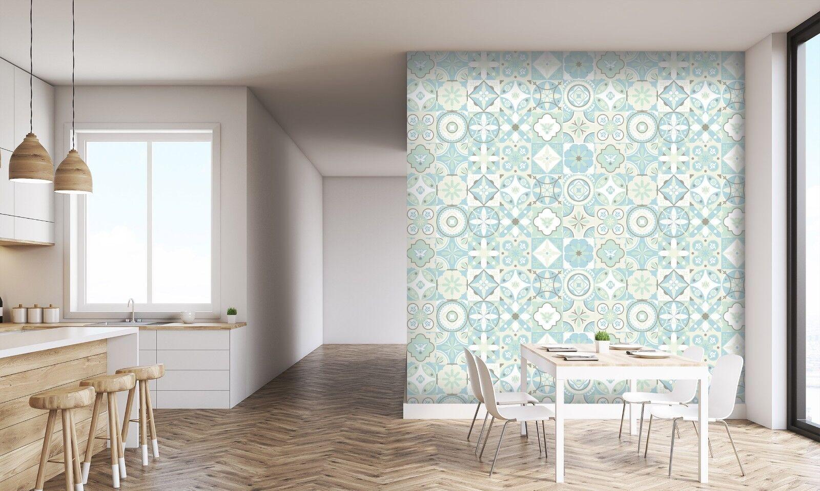 3D Light Pattern 846 Texture Tiles Marble Wall Paper Decal Wallpaper Mural