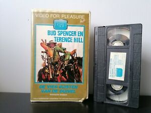 De-vier-vuisten-van-de-duivel-VHS-Dutch-Ex-Rental-Pre-Cert-Big-Box-PAL