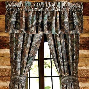 Realtree 174 Camouflage Advantage Timber Camo Curtains Drapes