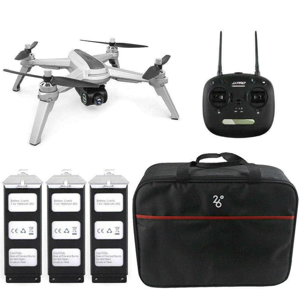JJRC JJPRO GPS 5G WiFi FPV Smart Follow  Me RC Drone Quadcopter 1080P HD telecamera  perfezionare
