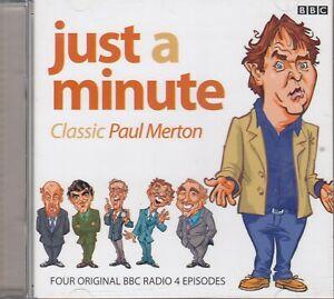 Just-A-Minute-Classic-Paul-Merton-2CD-Audio-Comedy-BBC-Radio-4-Nicholas-Parsons
