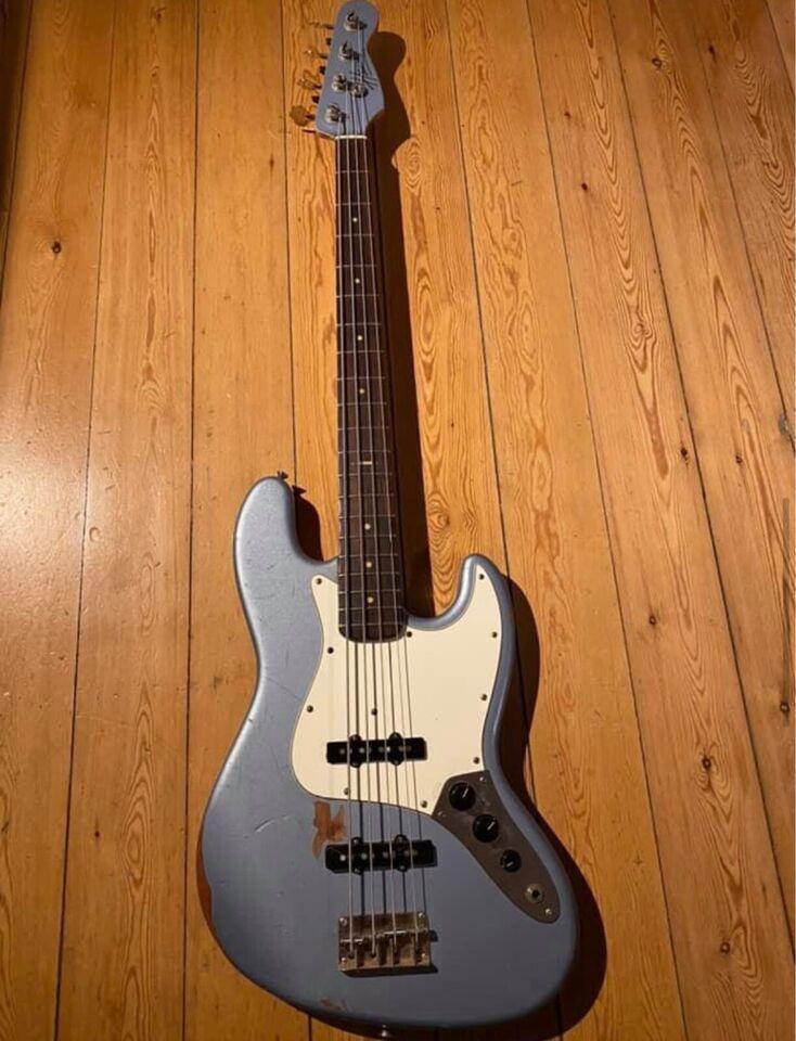 Elbas, andet mærke Hansen Jazz bass