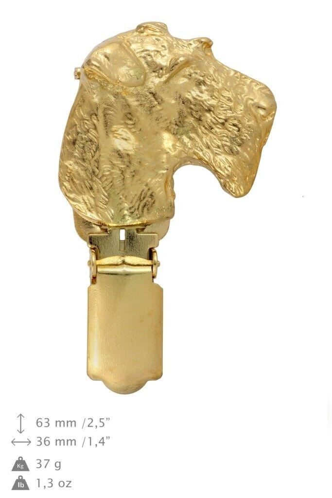 Airedale Terrier  Clips couvert doré, qualité supérieure Art Dog FR