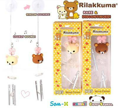 Kawaii Very Rare Rilakkuma or Korilakkuma Wind Chime! Discontinued!  U Choose!