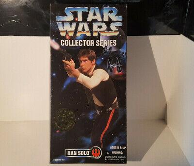 (lotto 257 G) Hasbro Star Wars Da Collezione Serie Han Solo 12 Pollici 1996-mostra Il Titolo Originale Famoso Per Materie Prime Di Alta Qualità, Gamma Completa Di Specifiche E Dimensioni E Grande Varietà Di Design E Colori