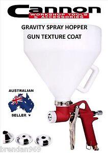 AIR SPRAY HOPPER GUN TEXTURE COAT PLASTERBOARD BRICK CONCRETE RENDER BRAND NEW